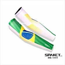 Original Spakct BRAZIL S14A18 UV Protect Cycling Arm Warmer