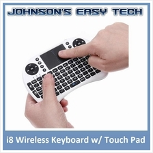 i8 UKB500 Wireless Mini Keyboard Touch Pad Android TV box PC MAC