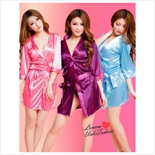 [Sales]IceSilk Robe Sexy Nightwear Lingerie L3038 (6 colors)