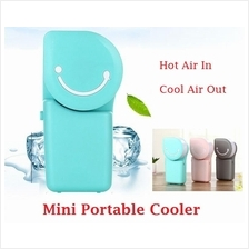 Portable Handheld USB Port  / AA Battery Air Cooler Fan Conditioner