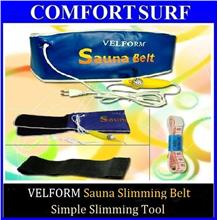 VELFORM Sauna Slimming Belt Fitness Fat Burn/Quick Lose Weight FREE Gf
