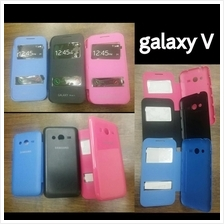 samsung galaxy V window view flip battery cover