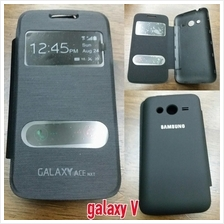 Samsung Galaxy V window Flip battery cover case