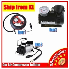Portable Car Tire Tyre Style Air Inflator Compressor FREE Protect Film