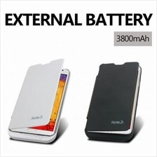 Power Case 3800mAh Samsung Galaxy Note 3 External Battery Flip Case