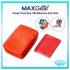 MAXGear Floaty Float Box 3M Adhesive Anti Sink for GoPro Action Sport