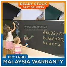Chalkboard Blackboard /Whiteboard Wall Sticker + FREE Chalks/Marker