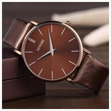 Sinobi Ultra-thin Case Men's Causal Quartz Watch