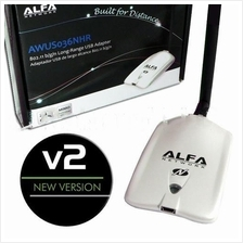 Alfa AWUS036NHR  NHV vs all wifi booster signal king