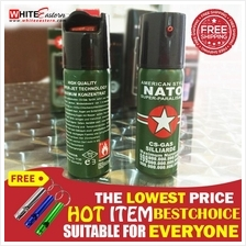 (*With Free Gift ) Nato Pepper Spray for Self Defense (60ml)