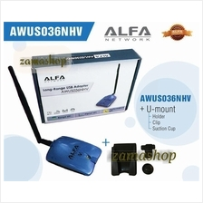Alfa AWUS036NHV + Mount + Suck  / wifi booster