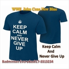 WWE WWF T Shirt  (John Cena New Blue)