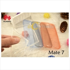 Huawei Ascend Mate 7 Thin transparent TPU Cover Case Scn Protector