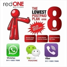 RedOne Red One postpaid reload top up bill payment
