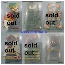 asus zenfone 5 cartoon diamond mounted plastic cover case