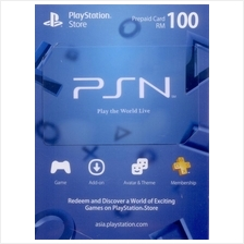 PlayStatio Network card PSN RM100 (Digital Code)