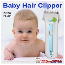 Flyco FC5801 Baby Hair Clippers/ Ceramic Blade Child Safe Hair Clipper