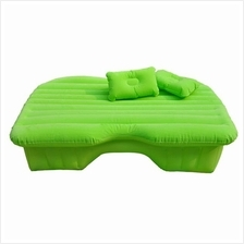 Inflatable Car Back Seat Air Bed Cushion Mattress Pillow