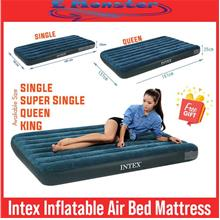 New Inflatable Double Flocked Air Bed Mattress Travel Camping Sleeping