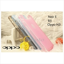 Oppo Neo 5 R831L / N3 / R5 TPU Silicone Back Cover Case Bag Scrn Prot