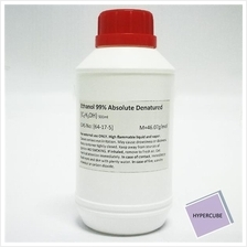 Ethanol (Ethyl Alcohol) Absolute 99% Denatured 500ml