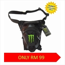 Monster Alpinestar Drop Leg Beg Waist Thigh Motorcycle Pouch Bag