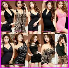 Tight Party Dress Clubwear Costume Nightwear Sexy Lingerie Cosplay