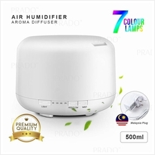 PRADO Ultrasonic Humidifier Aroma Diffuser 500ml Air Purifier MUJI