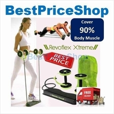 Revoflex Xtreme workout abs wheel - 40 Exercises for 90% Body Muscles