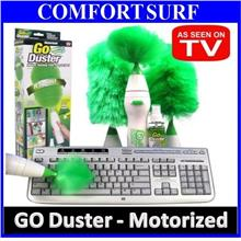 GO DUSTER Electronics Motorized Home Dust Cleaning Brush Tools