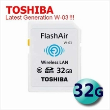 Toshiba FlashAir Flash Air Wireless SD Memory Card 8GB 16GB 32GB Sony