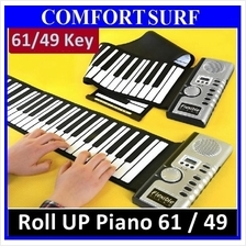 Quality Roll Up Piano Flexible Portable Electronic Soft Piano Keyboard