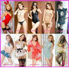 Costume Cosplay Nightwear Sleepwear Sexy Lingerie Party Dress Pajamas