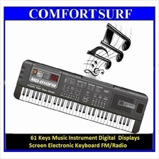61 Key Music Digital Screen Electronic Keyboard Piano FM RADIO