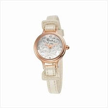 Eyki Kimio Women's White Leather Watch KW541S
