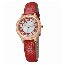 Eyki Kimio Women's Red Leather Watch KW531S