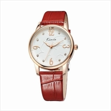 Eyki Kimio Women's Red Leather Watch KW523M