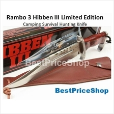 Rambo 3 - Hibben III Limited Edition Camping Survival Hunting Knife