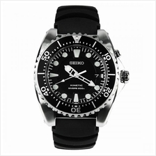 Seiko SKA371P2 SKA371 Kinetic Diver's 200M Rubber Strap Men's Watch