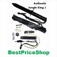 Authentic Jungle King 2 - Multifunction Camping Survival Knife II