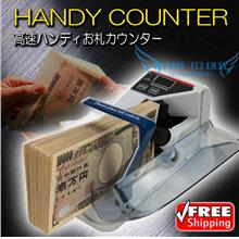Portable Cash Bank note Count Counting Money Currency Counter Machine
