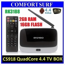 CS918 Android 4 RAM 2GB 16GB Smart TV Box WIFI XBMC Kodi Media Player