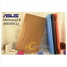 Asus Memopad 8 ME581 ME581CL Leather Flip Cover Case Screen Protector