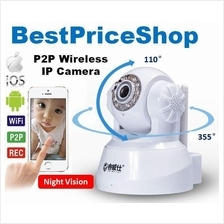 P2P Wireless IP CCTV HD 3G Camera Wifi IR Night Vision SD Card Slot