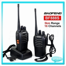 BaoFeng BF-888S 5KM Walkie Talkie 16 Channel Radio UHF 5W BF888S scs