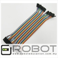Arduino 40p Dupont Jumper Wire Female to Female ( FF ) ( 20cm )