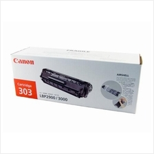 Canon Cartridge 303 Black Toner (Genuine) for LBP-2900 LBP-3000