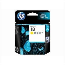 HP 18 YELLOW Ink C4939A (Genuine) K5300 K5400 K8600 L7380 L7580 L7590