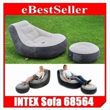 INTEX 68564 Ultra Lounge Inflatable Relaxing Single Air chair sofa