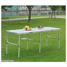Portable Folding Table Aluminium 180 x 60cm